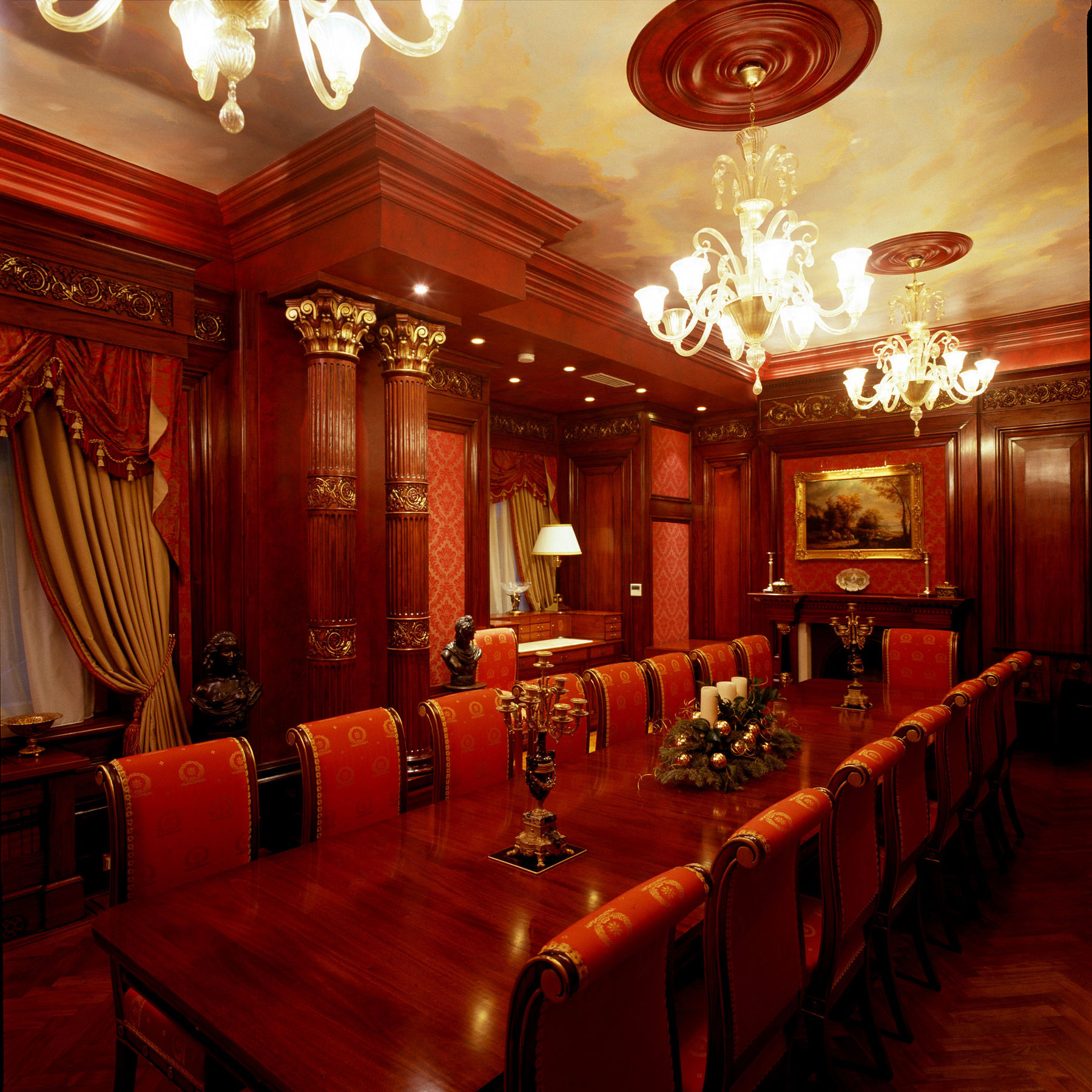 Anime Royal Dining Room: Dining Room – Royal College Of Organists – London
