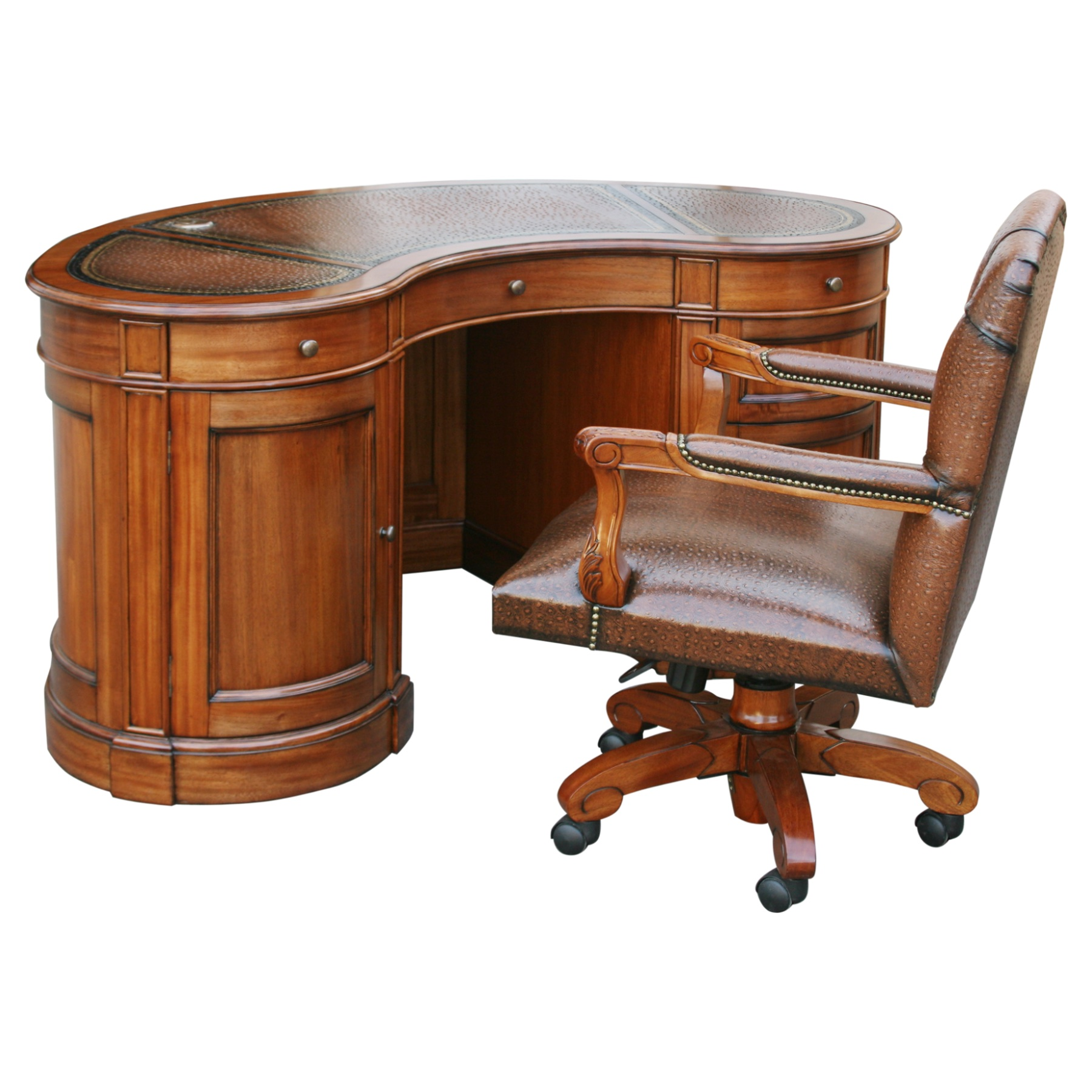 home antique ideas writing classic for table gorgeous bean desk cheap unique kidney ki furniture executive office shaped