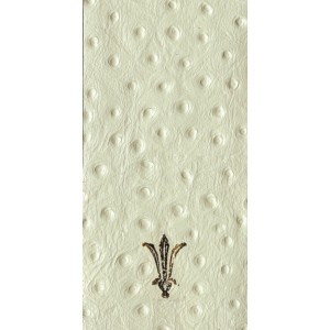Leather L011 Ostrich Ivory